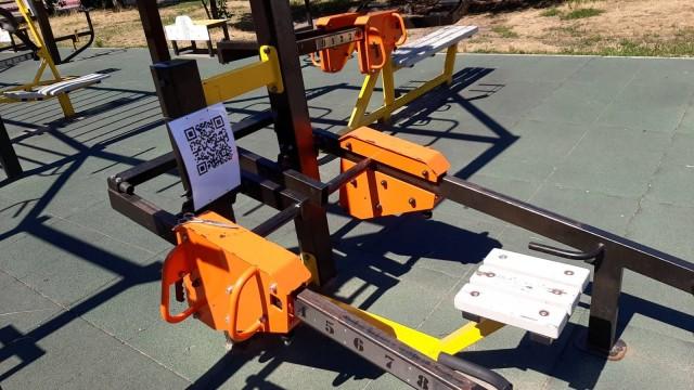 На площадках для воркаута появятся QR-коды с правилами пользования тренажерами