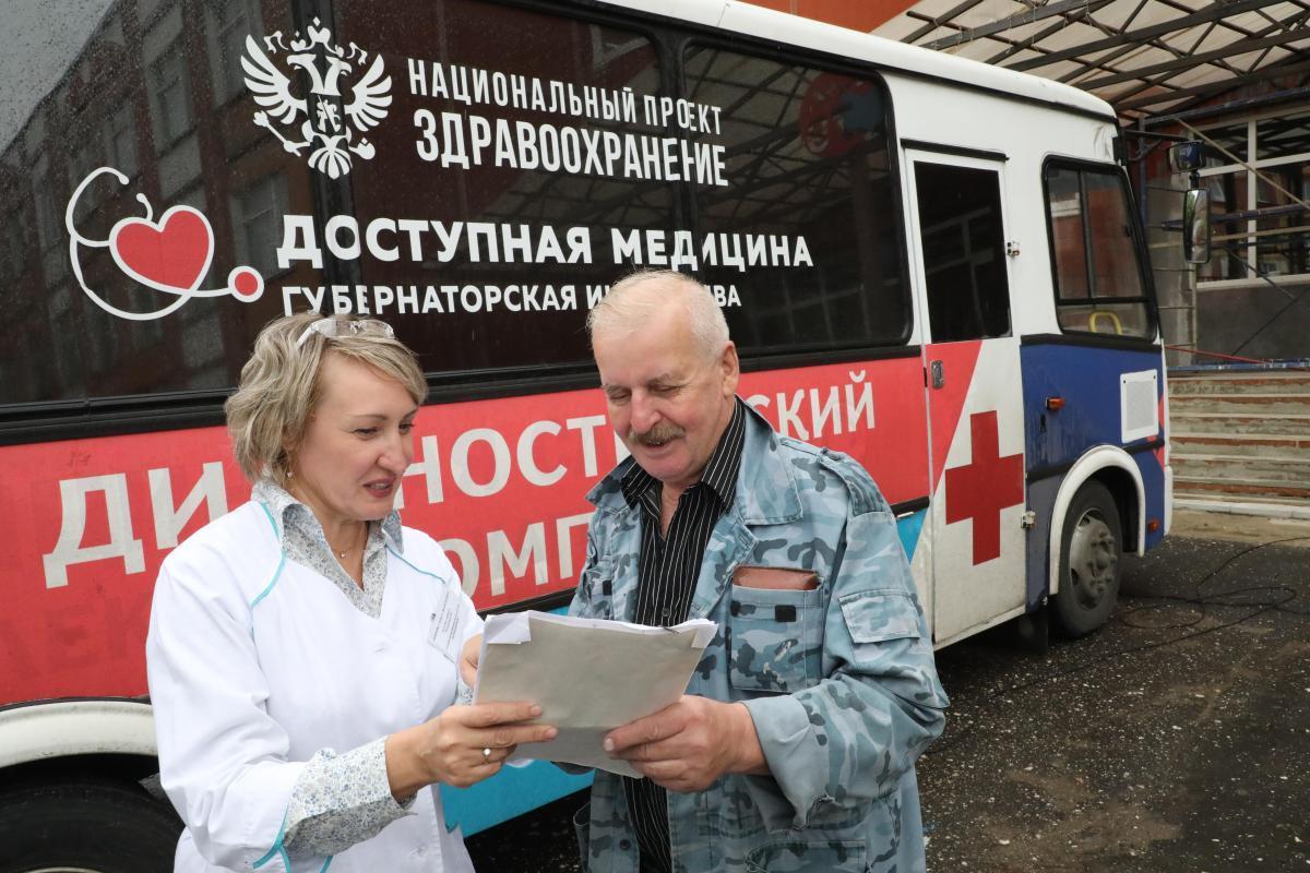Более 60 жителей Кстовского района прошли обследование успециалистов «Поездов здоровья» вдеревне Ройка