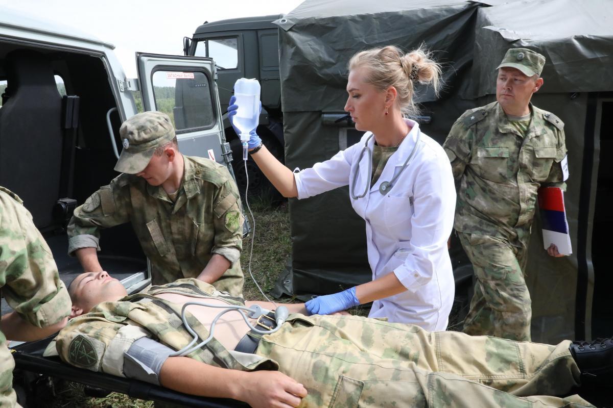 Росгвардия продемонстрировала возможности медицинского отряда специального назначения