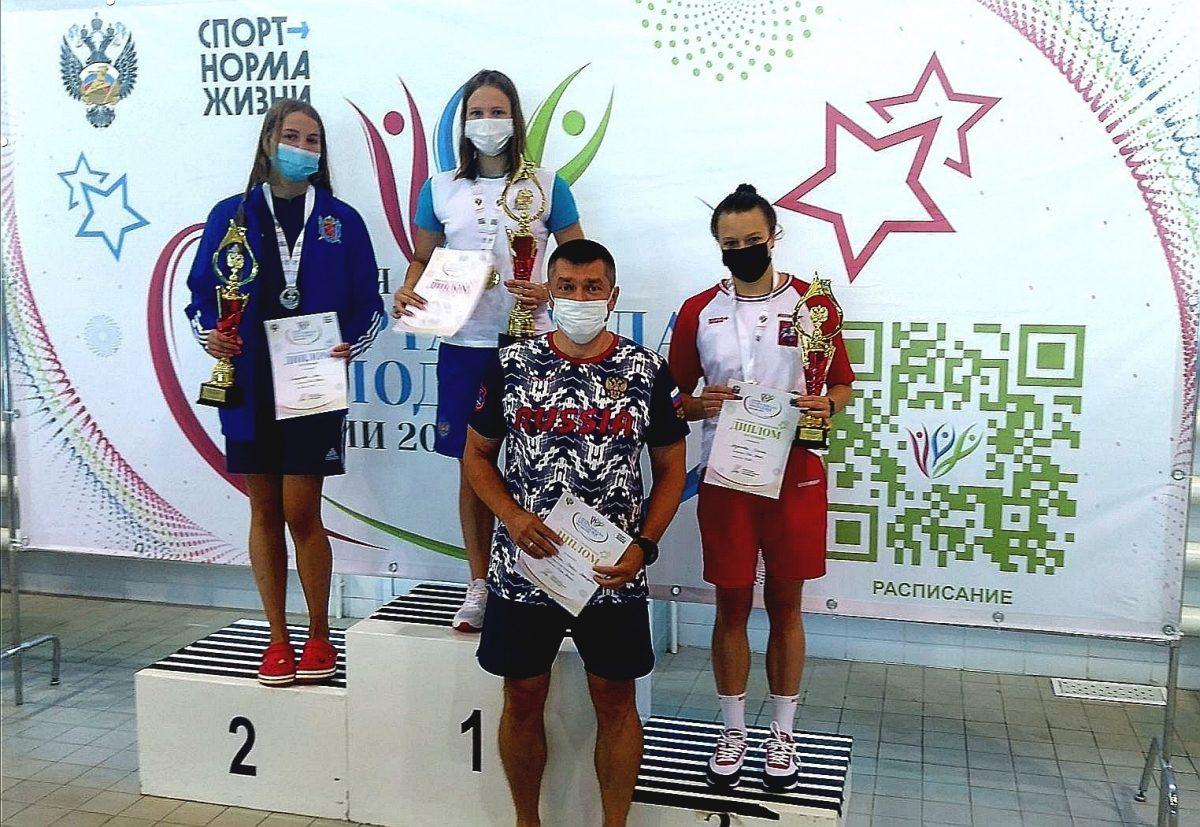 Нижегородская пловчиха Елена Богомолова стала лучшей в спринте на Спартакиаде молодёжи России