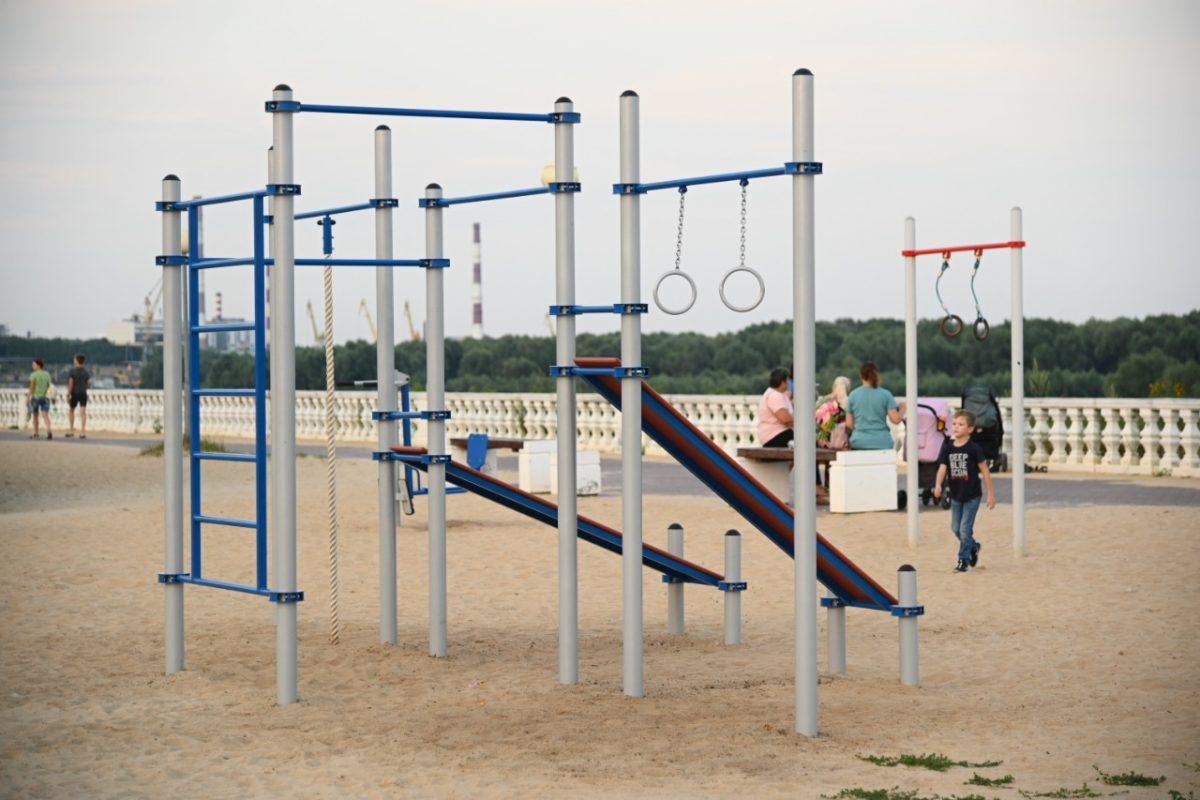 Новые площадки в Дзержинске сделают занятия спортом доступнее