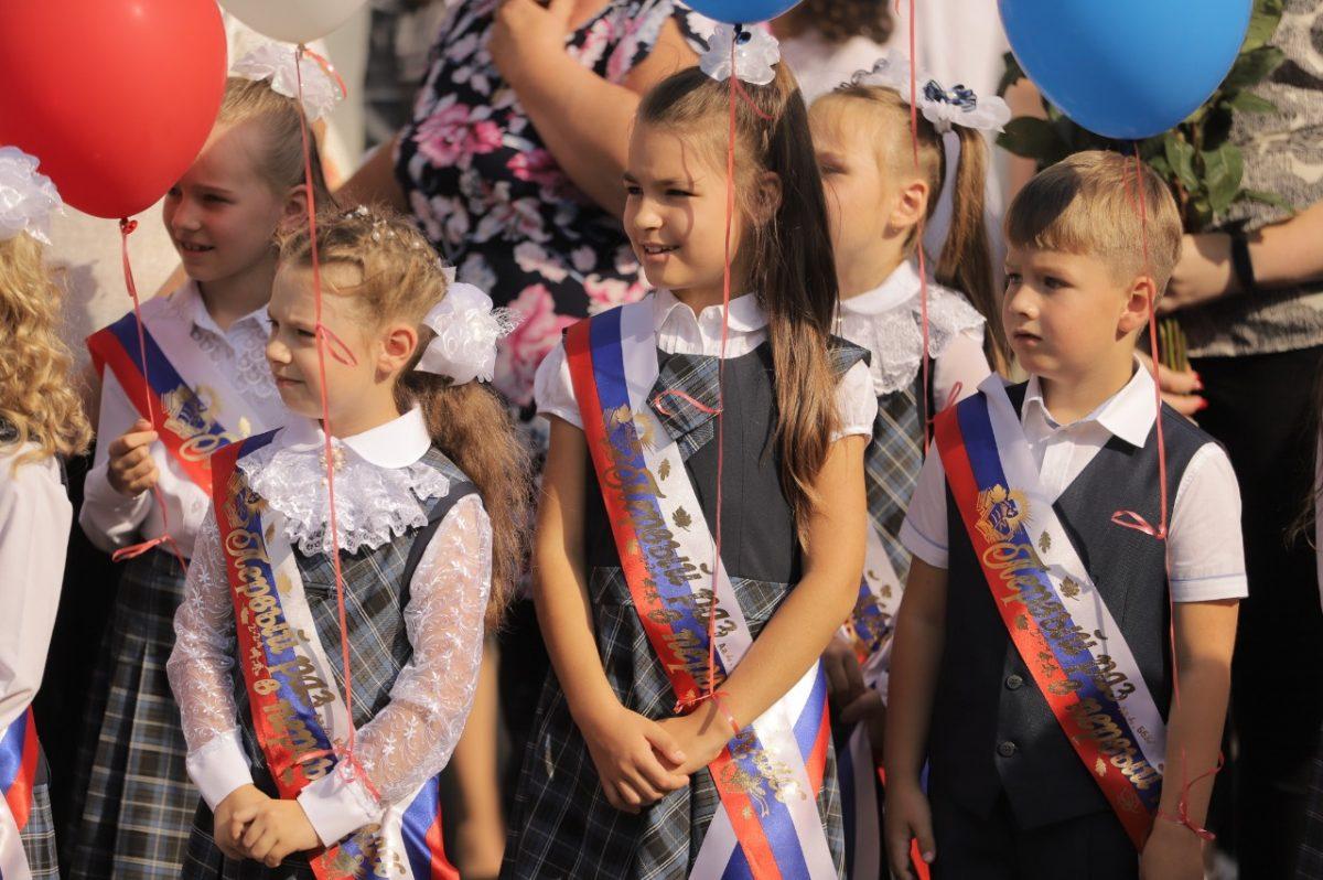 Более 2300 первоклассников отправятся в школы Дзержинска