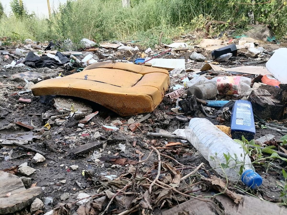 Региональный оператор ликвидировал несанкционированную свалку вКанавинском районе Нижнего Новгорода
