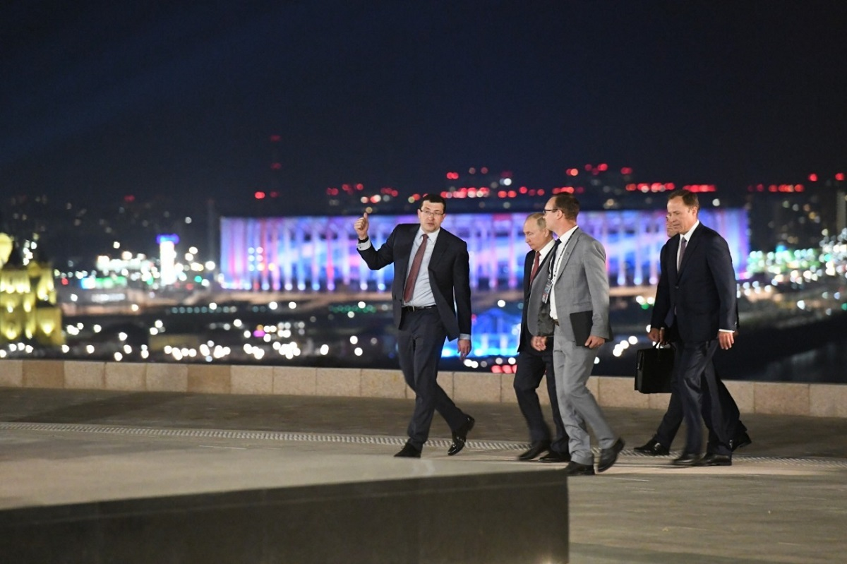 Работа на перспективу: президент России одобрил планы развития Нижнего Новгорода