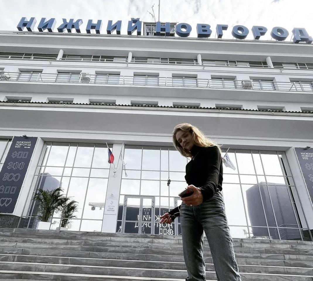 Наталья Водянова приехала в Нижний Новгород на 800-летие города