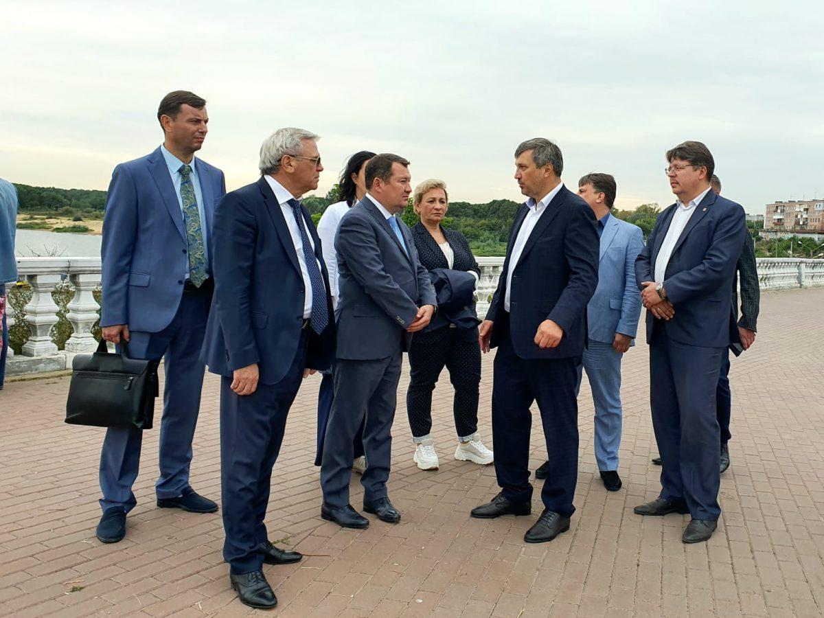 Замминистра строительства и ЖКХ РФ Максим Егоров посетил Дзержинск