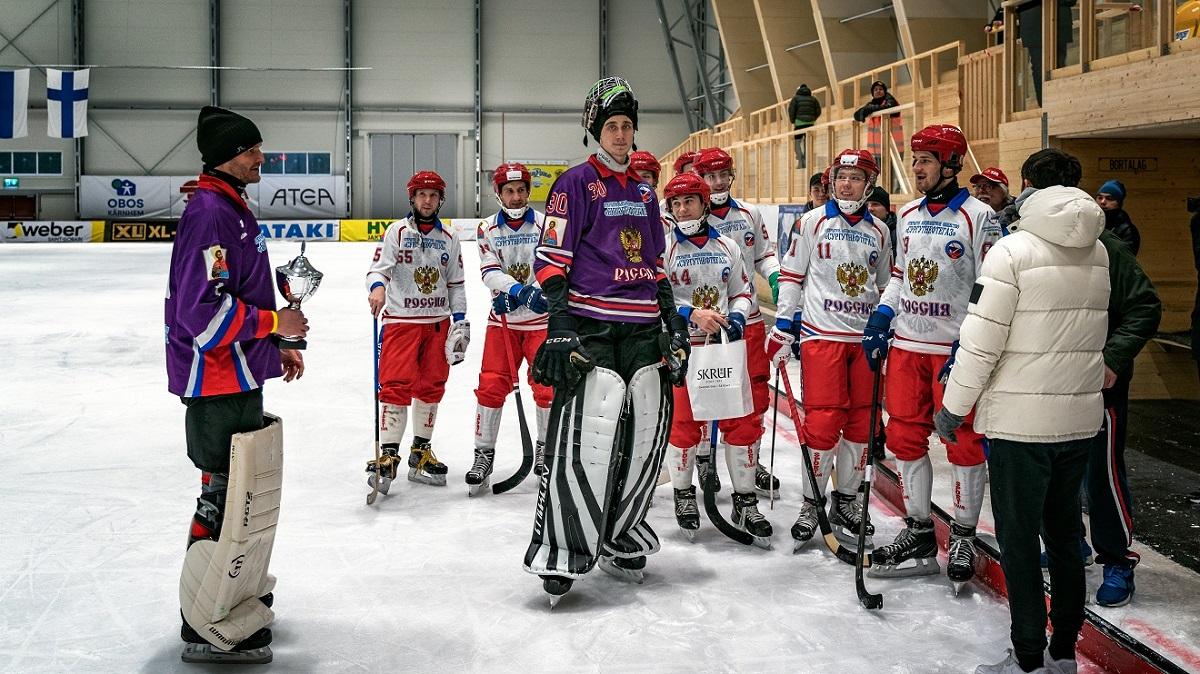 Хоккей с мячом: нижегородский голкипер в составе национальной сборной