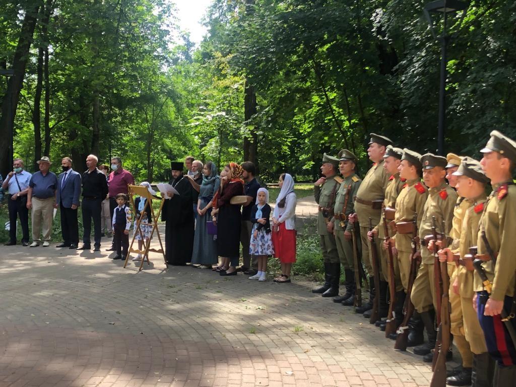 Нижегородцы почтили память погибших в Первой мировой войне