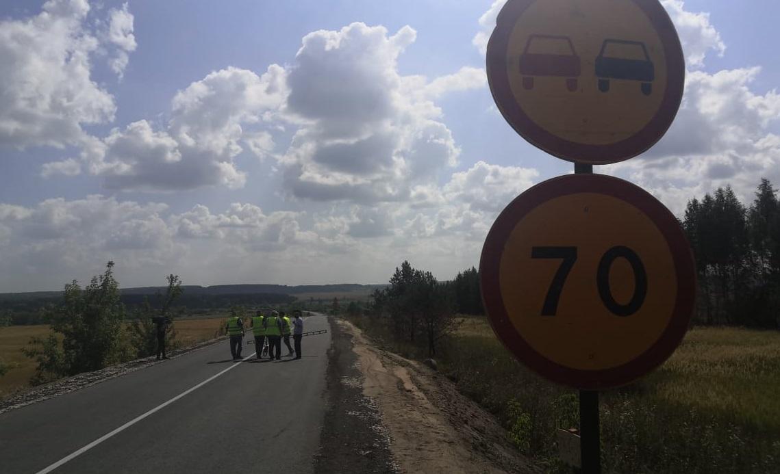 ВКовернинском районе Нижегородской области отремонтировали участок дороги понацпроекту