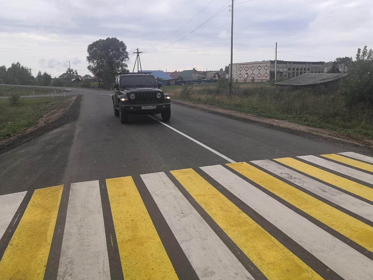 Почти 7км подъезда кдеревне Ковригино вГородецком районе отремонтировали понацпроекту