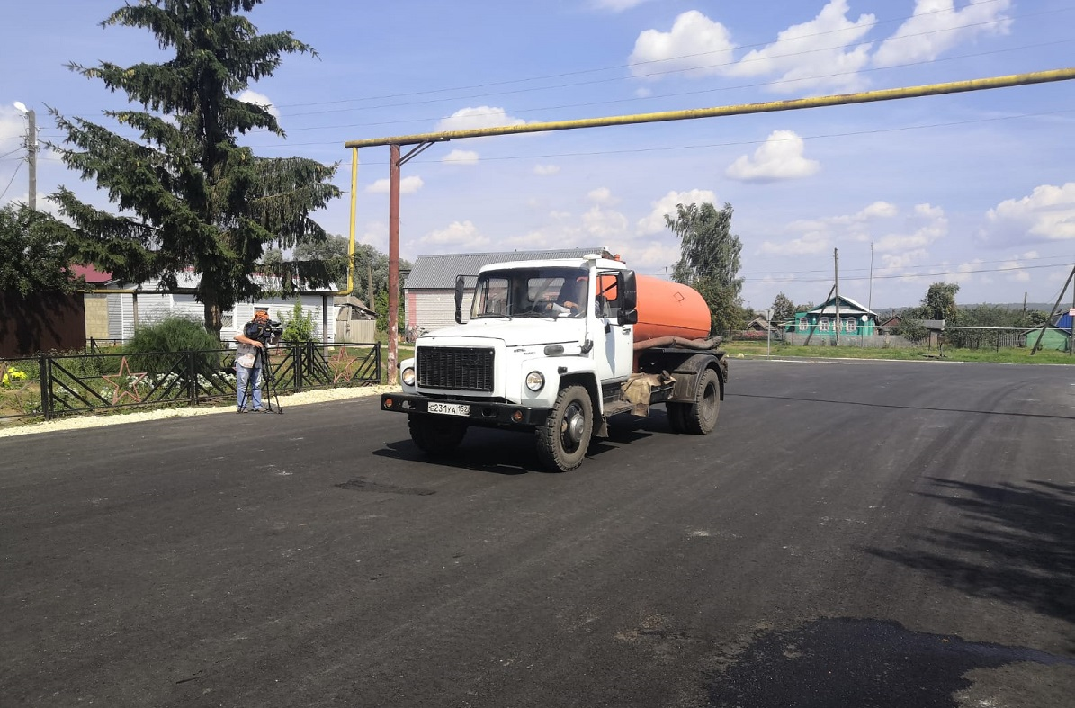 Дорогу кселу Умай вВадском округе расширили для обеспечения безопасности общественного транспорта