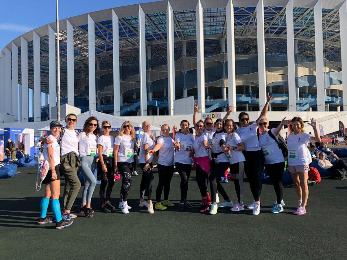 Более 1,2 млн рублей для благотворительных фондов собрали участницы проекта  «Beauty-бег» в Нижнем Новгороде