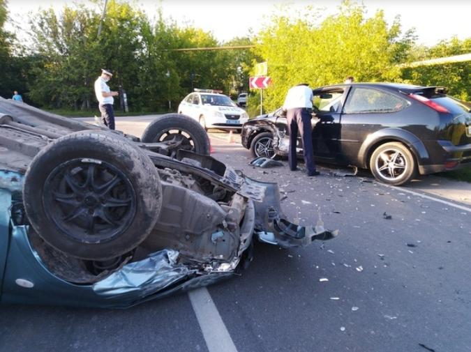 Пьяный водитель устроил ДТП в Дзержинске
