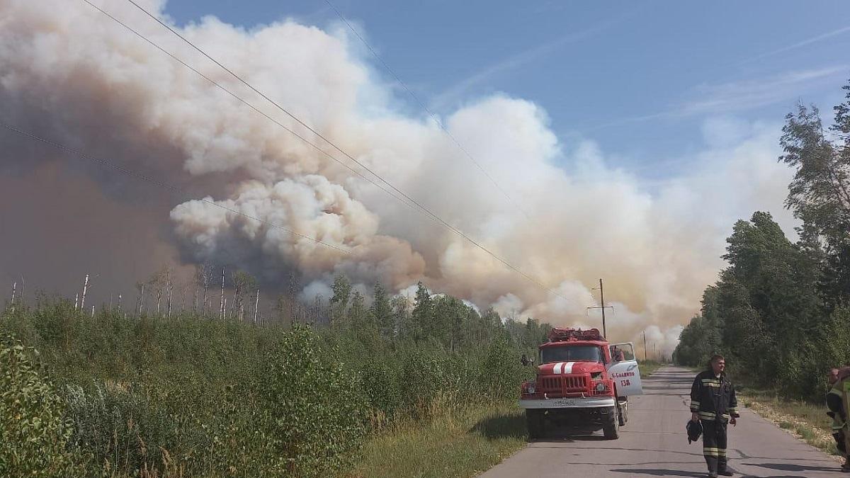 Фронт огня: хроника тушения пожара на границе Нижегородской области и Мордовии