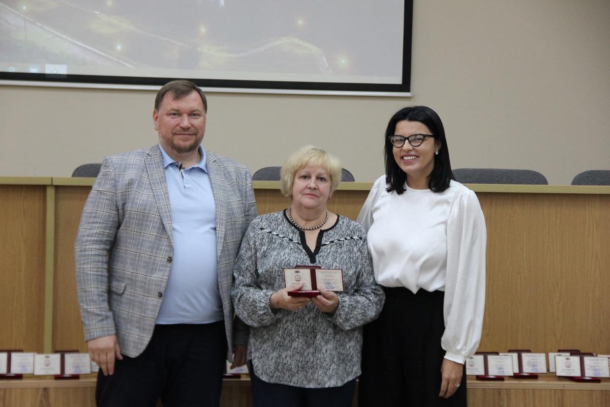 33 сотрудника Нижегородского водоканала награждены Памятным знаком «800 лет городу Нижнему Новгороду»