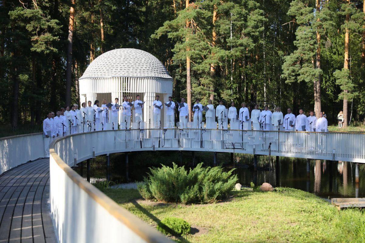 Глеб Никитин посетил мероприятия фестиваля «Арт-Овраг» вВыксе