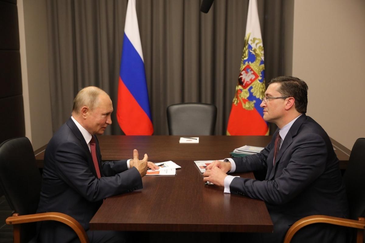 Глеб Никитин доложил Владимиру Путину ореализации программы модернизации первичного звена