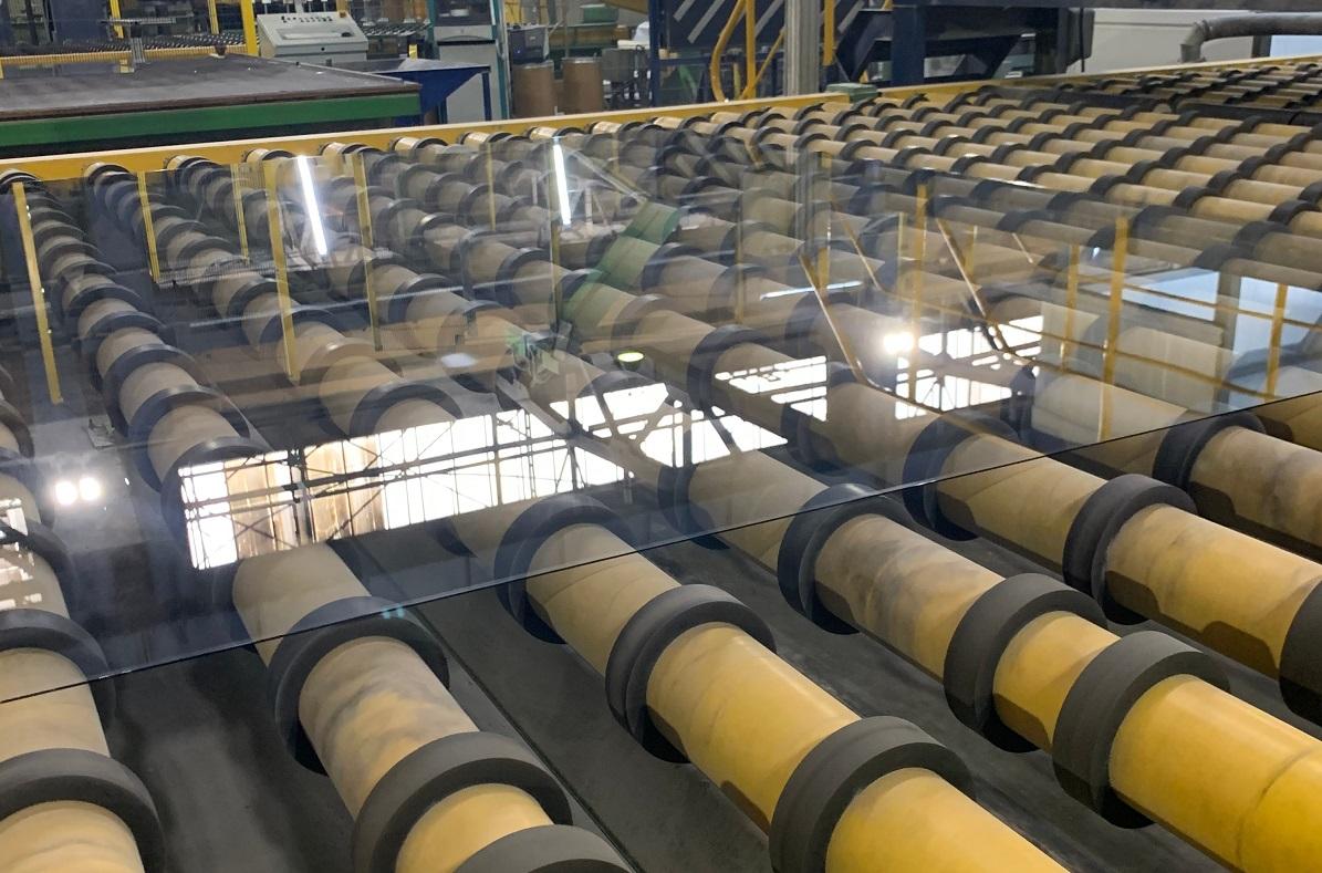 Линия попроизводству полированного стекла запущена вэксплуатацию наБорском стекольном заводе
