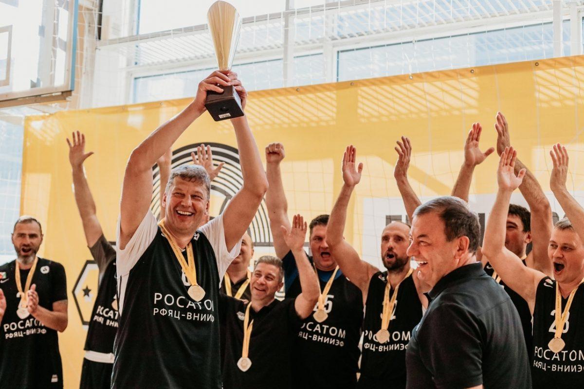 Команда из Сарова выиграла первенство России среди ветеранов