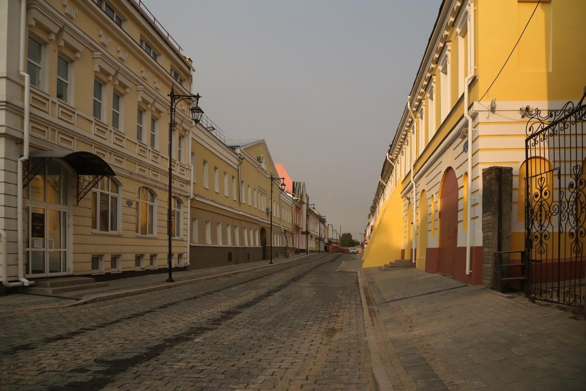 Дороге на улице Кожевенной вернули исторический облик после ремонта