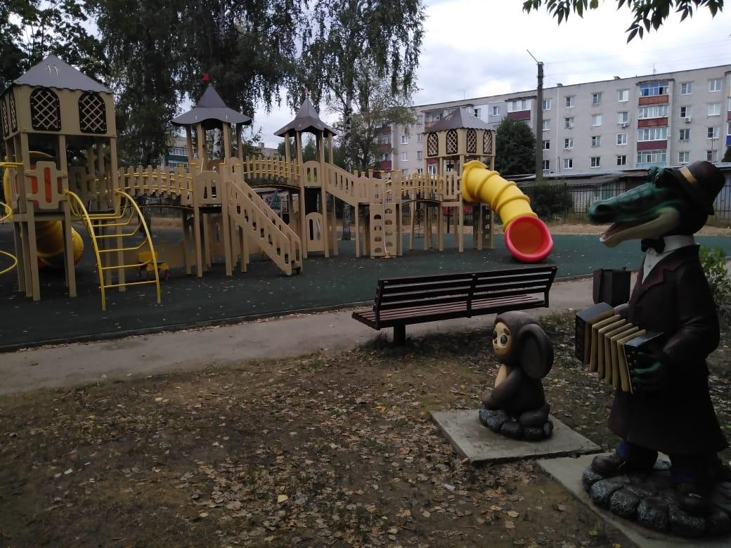 ВНавашине врамках нацпроекта благоустраивается территория городского парка