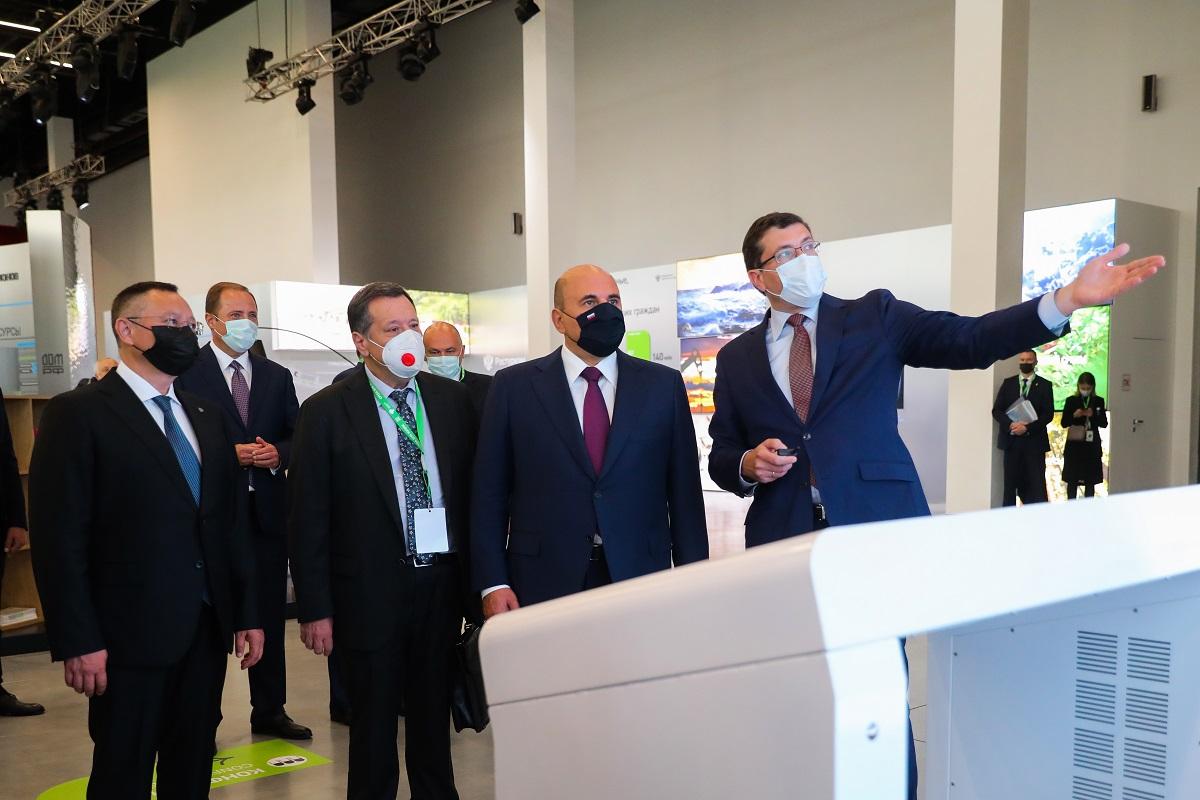 Глеб Никитин представил Михаилу Мишустину инфраструктурные проекты 800-летия
