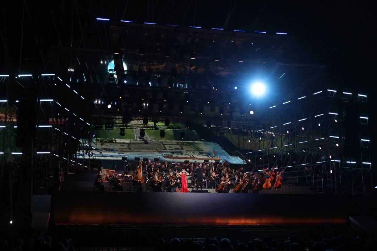 Чкаловская лестница открылась феерическим концертом в Нижнем Новгороде
