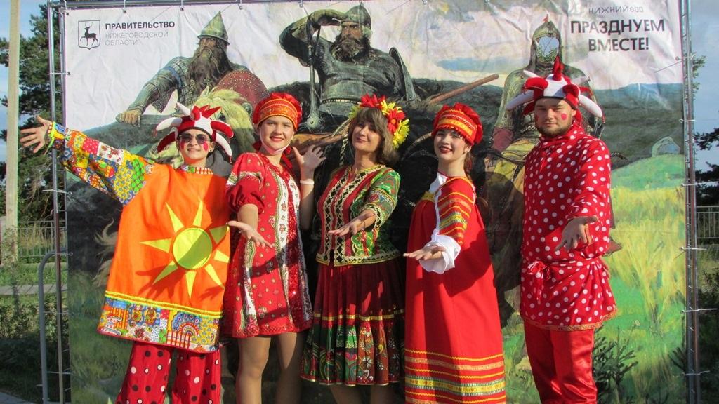 Мероприятия к800-летию Нижнего Новгорода прошли сразу внескольких районах области