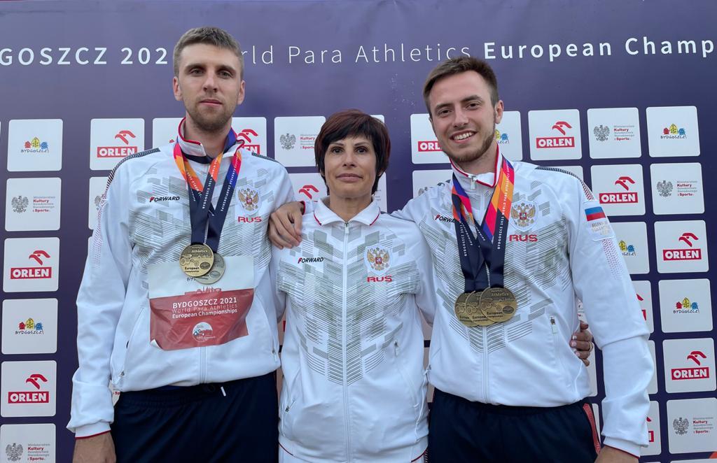 Глеб Никитин поздравил Дмитрия Сафронова сзолотом Паралимпийских игр