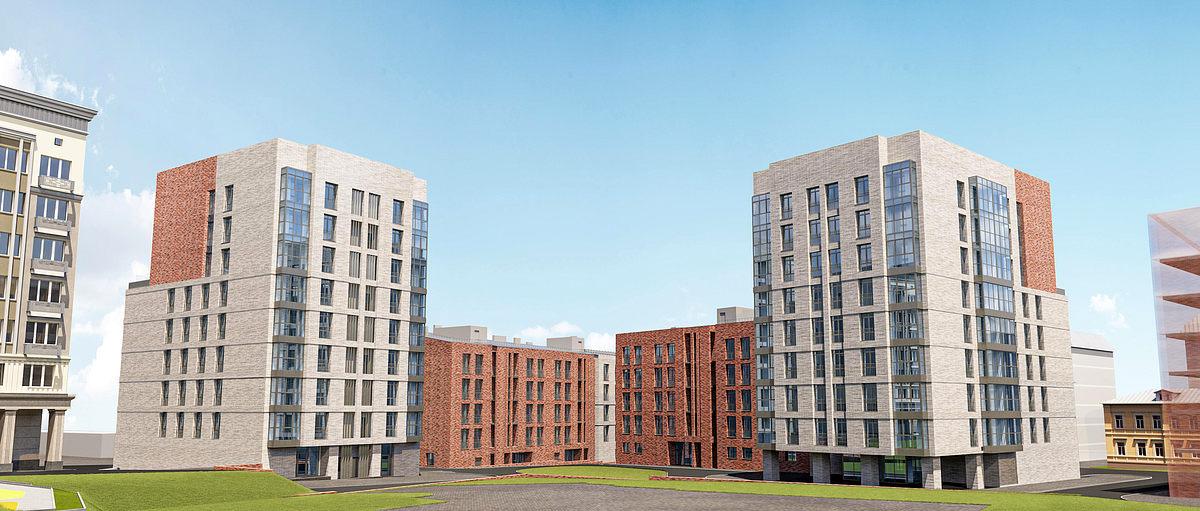 Три новых здания планируют построить в жилом комплексе «Симфония Нижнего»