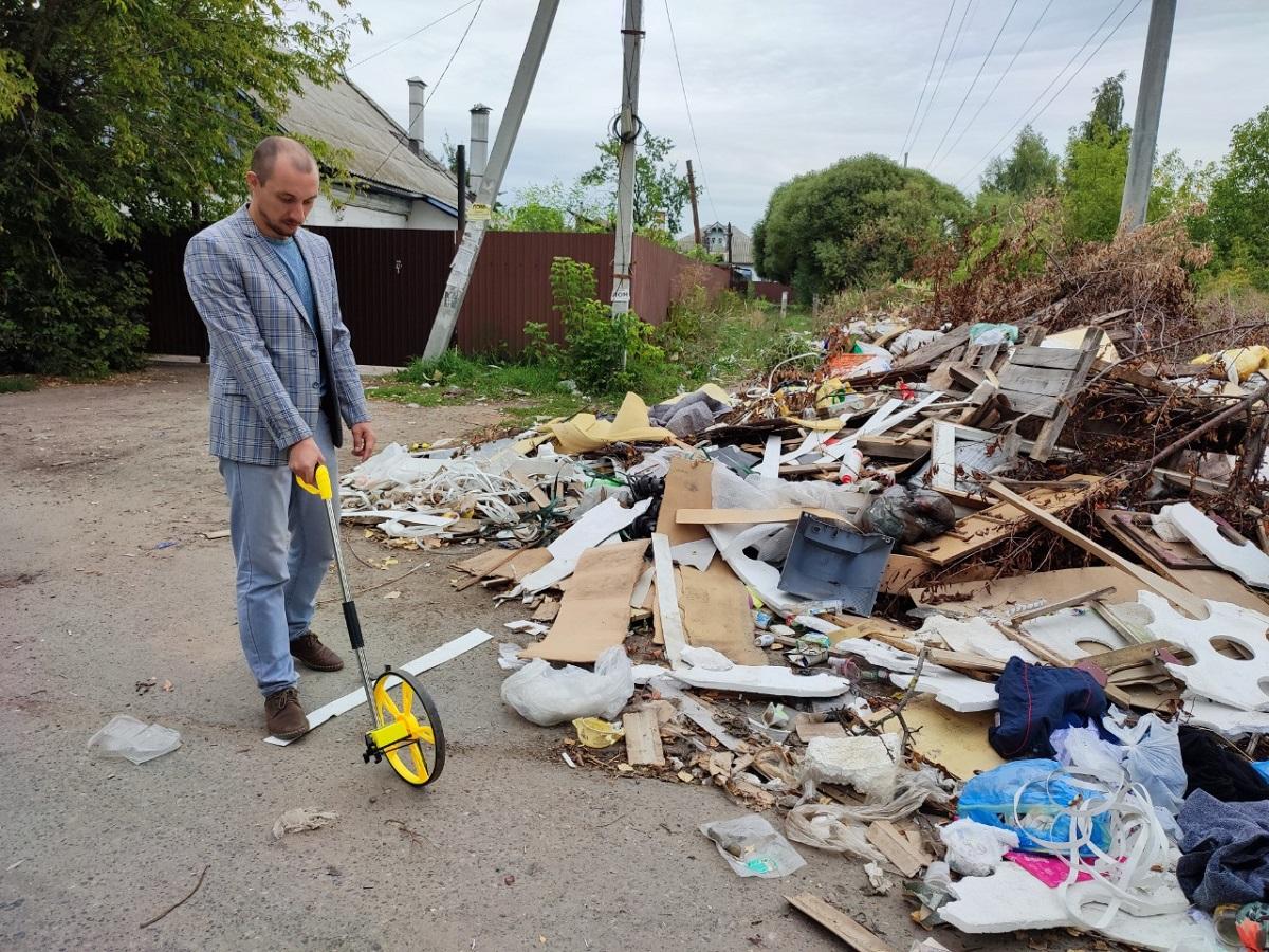 В Канавинском районе Нижнего Новгорода начали ликвидацию несанкционированных свалок