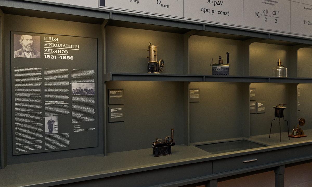 Кабинет физики с экспонатами 19 века открылся в Музее просвещения Мининского университета