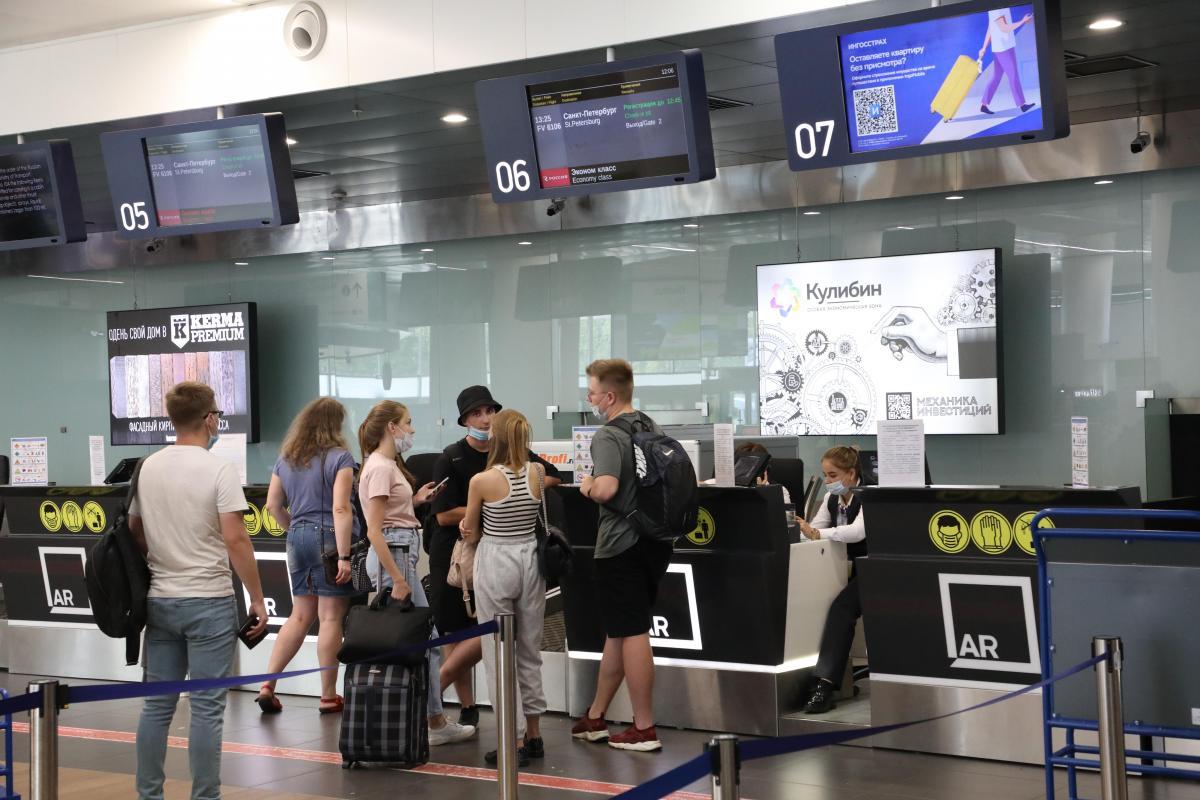Нижегородский аэропорт имени Чкалова обслужил рекордное количество пассажиров в дни празднования 800-летия города