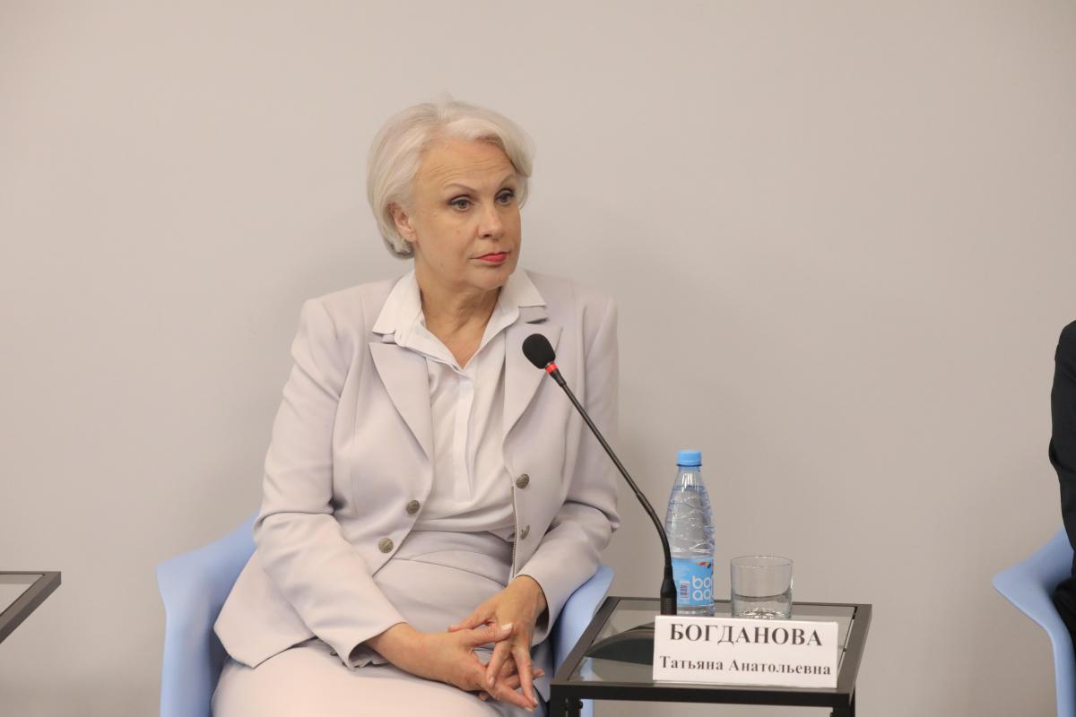 Татьяна Богданова: «Выплаты пенсионерам — это показатель правильной экономической политики»