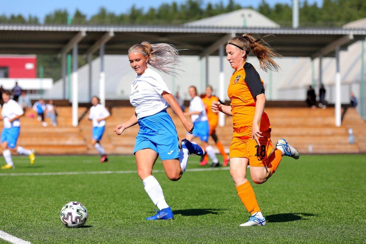 Футболистки нижегородской «Ники» заняли пятое место в своей зоне