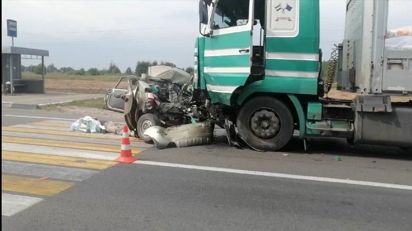 Водитель погиб при столкновении с фурой в Арзамасском районе