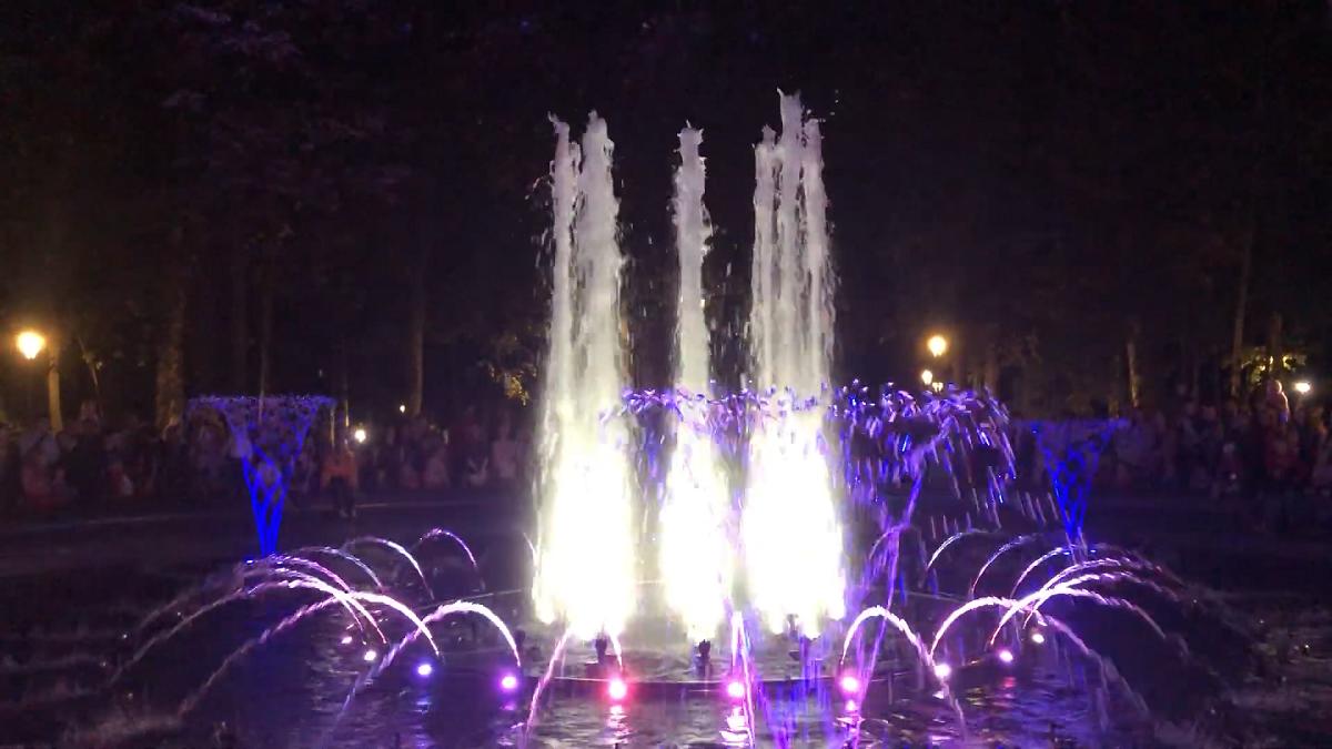 Музыкальный фонтан открылся в нижегородском парке «Швейцария»