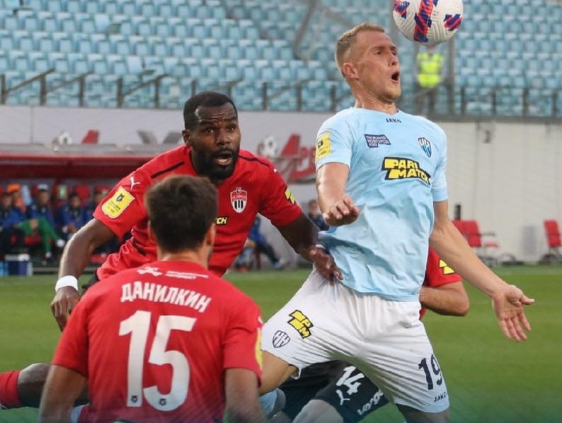 Футболисты «Нижнего Новгорода» добились ничейного исхода в Химках