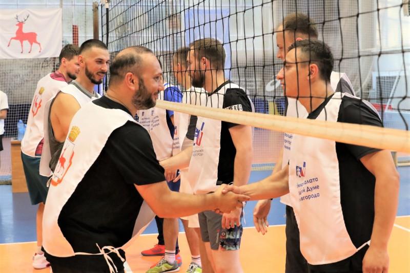В Нижнем Новгороде прошел турнир по волейболу на Кубок председателя городской Думы