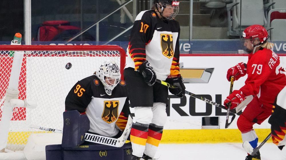 Россиянки сыграют в матче за 5-е место на женском чемпионате мира по хоккею в Канаде