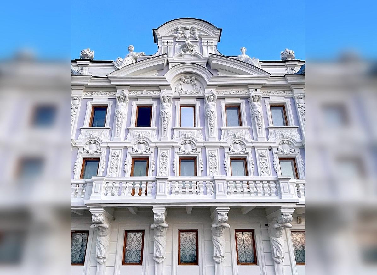 Нареставрацию фасадов Усадьбы Рукавишниковых вНижнем Новгороде направлено 22 млн рублей