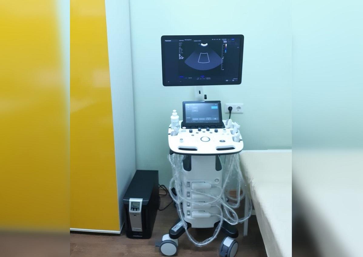 Новый аппарат УЗИ приобретен для детской городской поликлиники №39 Нижнего Новгорода