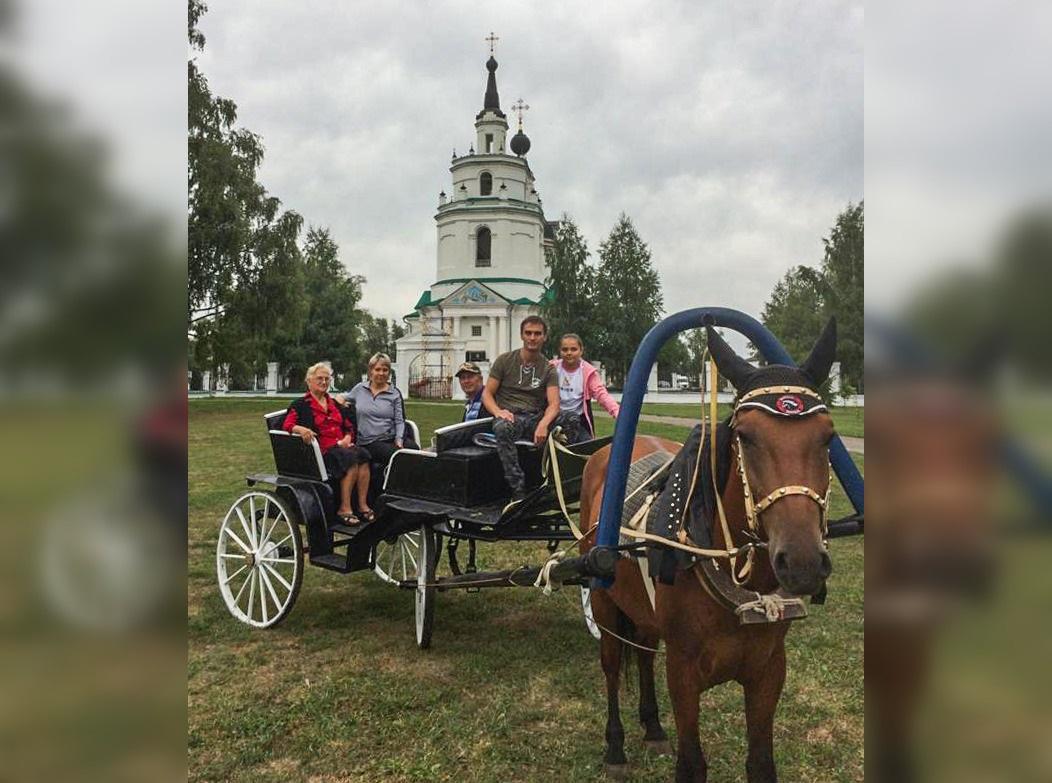 Вмузее-заповеднике «Болдино» открыли конный двор ивелопрокат
