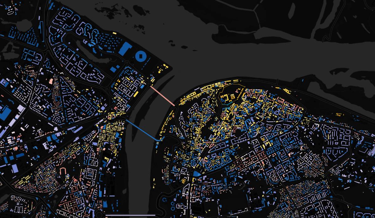 Эксперты составили карту возраста домов Нижнего Новгорода