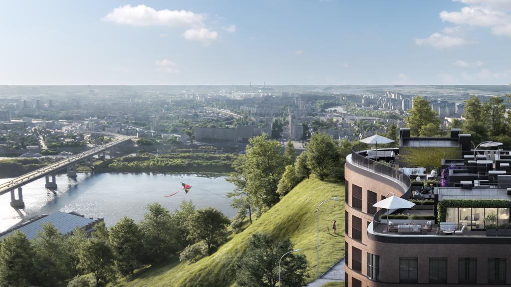 Клубный дом с собственным сквером построят на Гребешковском откосе в Нижнем Новгороде до конца 2022 года