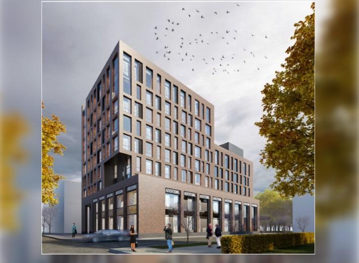 Дом с переменной этажностью могут построить на улице Коминтерна в Нижнем Новгороде