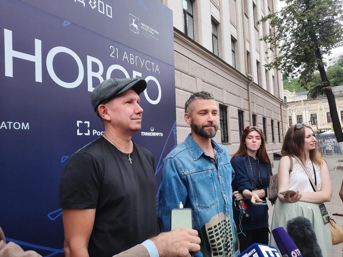 Братья Кристовские: «Шоу кюбилею Нижнего Новгорода— просто невероятное!»