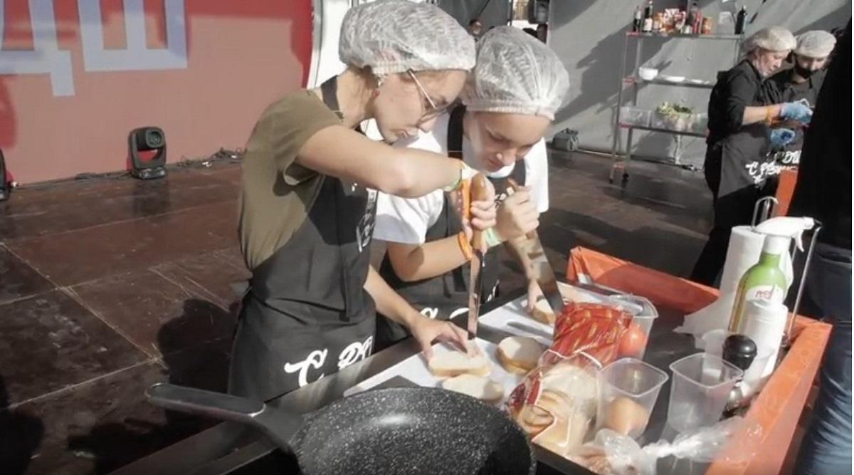 Первая школьная кулинарная битва состоялась в Нижнем Новгороде