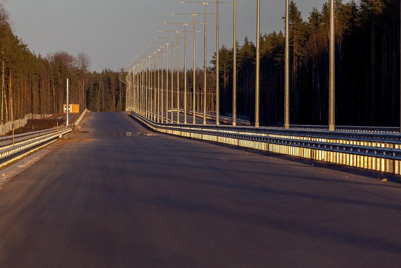 Символом М-12 будет вантовый мост через Оку