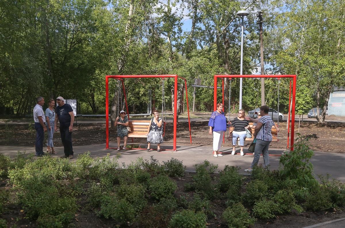 Новое благоустроенное пространство на месте заросшего пустыря появилось в Нижнем Новгороде